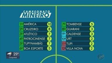 Confira a tabela do Campeonato Mineiro e os jogos da 5ª rodada - Confira a tabela do Campeonato Mineiro e os jogos da 5ª rodada