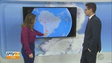 Confira a previsão do tempo para Campinas e região nesta sexta-feira (1º) - Calor segue forte no primeiro dia de fevereiro. Máxima ultrapassa os 30°C.
