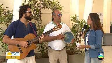 Kleber Melo e Paulinho Araújo fazem show em homenagem a Iemanjá - Kleber Melo e Paulinho Araújo fazem show em homenagem a Iemanjá.