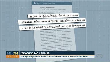 TCE aponta problemas em contratos firmados com as concessionárias de pedágios no Paraná - Foram analisadas a Viapar, Rodonorte, Econorte e Ecocataratas.