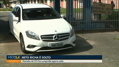 Ex-governador Beto Richa é solto por decisão do STJ - Ele foi preso em operação que apura supostas fraudes na gestão de concessões rodoviárias no Paraná.