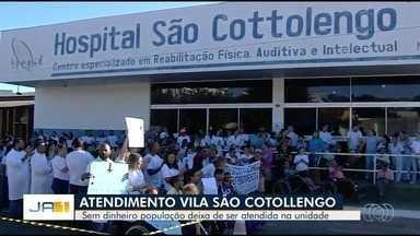Vila São Cottolengo suspende atendimento - Unidade afirma que repasses em atraso inviabilizam continuidade dos atendimentos.