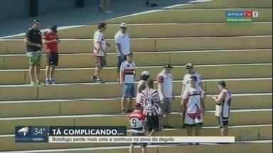 Botafogo-SP perde mais uma e continua na zona de rebaixamento - Jogo aconteceu nesta quinta-feira (31) e terminou em 1 a 0 para Novorizontino.