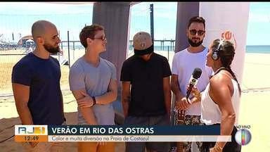 Banda Jamz se apresenta na Praia de Costazul nesta sexta (1º) - Assista a seguir.