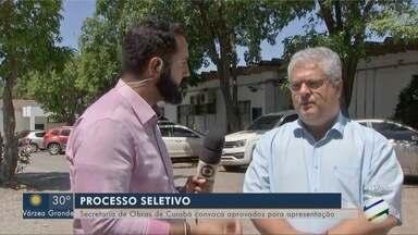 Secretaria de Obras de Cuiabá convoca aprovados para apresentação - Secretaria de Obras de Cuiabá convoca aprovados para apresentação.