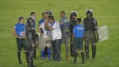 O presidente do Sinop falou sobre a confusão envolvendo o arbitro da partida contra o Cuia - O presidente do Sinop falou sobre a confusão envolvendo o arbitro da partida contra o Cuiabá.