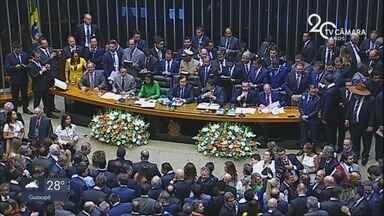 Deputados federais da nova Legislatura assumem cargos em Brasília (DF) - Deputados federais da nova Legislatura assumem cargos em Brasília (DF)