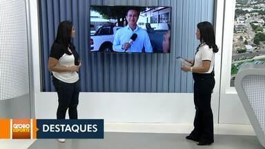 Esporte: confira os destaques do Globo Esporte desta sexta (1º) - Treinamento funcional gratuito ocorre neste sábado em Boa Vista.