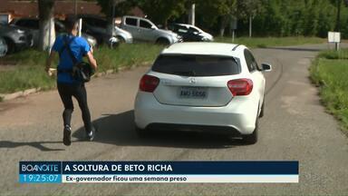 Após uma semana preso, ex-governador Beto Richa é solto nesta sexta-feira (1º) - Entenda porque o STJ tomou essa decisão.