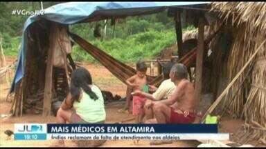 Falta de interesse por vagas do Mais Médicos em Altamira, no PA, afeta indígenas - Indígenas reclamam falta de atendimento nas aldeias.