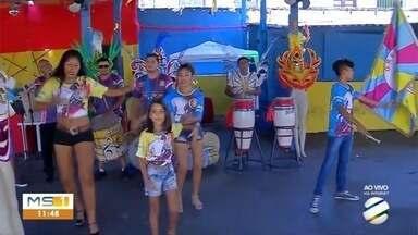 Carnaval 2019: Vila Mamona homenageia Pérola do Pantanal - Em Corumbá.