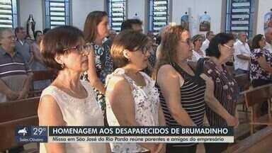Missa em São José do Rio Pardo homenageia família vítima da tragédia em Brumadinho - Evento religioso reuniu parentes e amigos do empresário da cidade.