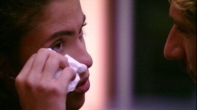 Hana chora ao falar sobre discurso de Alan - Sister repercute discurso de brother