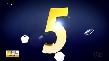 Confira os lances mais interessantes da terceira rodada do Alagoano - Globo Esporte preparou o Top 5