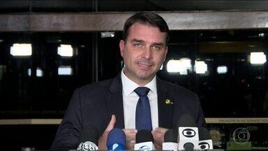 PGR manda para Procuradoria Eleitoral do Rio inquérito sobre Flávio Bolsonaro - Senador do PSL é investigado por suspeita de lavagem de dinheiro e falsidade ideológica.