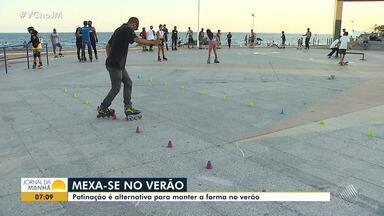 Esportes de verão: patinação é alternativa para os esportistas - O esporte também é uma maneira de manter a forma no verão.