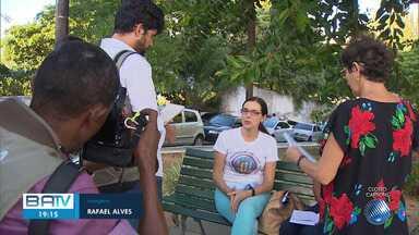 Parentes dos velejadores baianos soltos em Cabo Verde se reunem com imprensa - Eles agradeceram a função da imprensa em denunciar o caso.