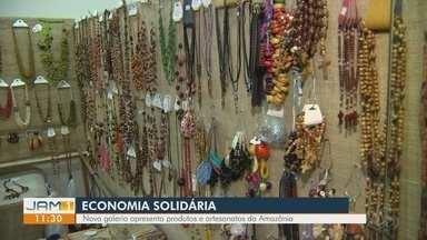 Nova galeria apresenta produtos e artesanatos da Amazônia - Opções ficam em novo prédio que funciona há alguns meses na capital