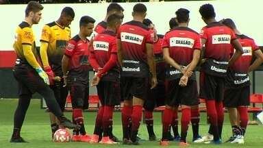 Atlético-GO recebe o Crac e tenta se recuperar no Campeonato Goiano - Dragão joga no Antônio Accioly depois de perde clássico para o Goiás. Técnico Wagner Lopes deve utilizar força máxima.