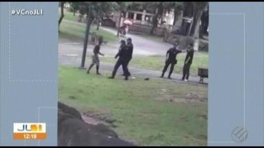 Corregedoria da Guarda Municipal invcestiga postura de agentes que agrediram homem - Caso foi filmado e circulou pelas redes sociais.