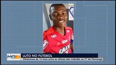 Corpo de Pablo, vítima de incêndio no alojamento do Flamengo, é liberado e será enterrado - Conforme informado pela família, o corpo do jovem zagueiro já está a caminho da cidade, onde será velado a partir de 14h