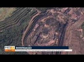Investigações apuram o uso de explosivos nas barragens em Brumadinho - Em depoimento, Ricardo de Oliveira, gerente de segurança da Vale, confirma o uso de explosivos pela Mineradora em Brumadinho.