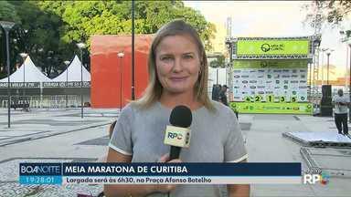 Ruas serão bloqueadas para a Meia Maratona de Curitiba - Largada é na praça Afonso Botelho.