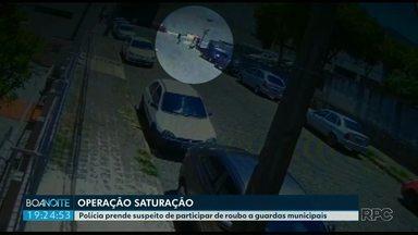 Suspeito de roubar GM de Ponta Grossa está preso - A prisão foi hoje pela manhã.