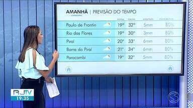 Meteorologia prevê domingo de sol e tempo aberto no Sul do Rio - Nebulosidade aumenta ao longo do dia e há possibilidade de chuva isolada no fim da tarde.