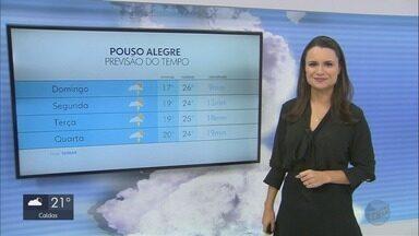 Confira a previsão do tempo para este domingo (10) no Sul de Minas - Confira a previsão do tempo para este domingo (10) no Sul de Minas