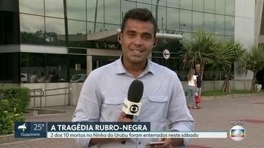 Três atletas do Flamengo continuam internados - Três atletas do Flamengo continuam internados. Dois deles estão em um hospital na Barra da Tijuca.