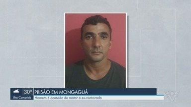 Polícia prende suspeito de matar a ex-namorada em São Vicente - O crime ocorreu em 2014 e o rapaz foi preso em Mongaguá.