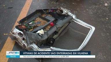 Acidentes na BR-364 deixa vítimas em Vilhena, Ji-Paraná e Cacoal - Colisões foram na tarde e na noite de sexta-feira (8).
