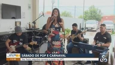 Cantora Taty Taylor é uma das pedidas para o carnaval em Macapá - Ecléctica, a cantora aposta na mistura do axé baiano com outros ritmos para fazer o público animar durante o carnaval.