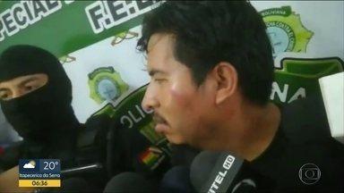 Homem suspeito de matar família de bolivianos na Grande SP é preso na Bolívia - Crimes foram há um mês em Itaquaquecetuba, na região metropolitana. Homem confessou os assassinatos para a polícia boliviana
