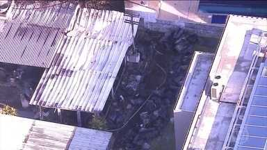 Projeto de construção do Ninho do Urubu não previa alojamento - O local que pegou fogo deveria ser lavanderia, administração e estacionamento.