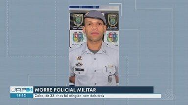 Cabo da PM morre após ser baleado dentro de veículo no AP; arma dele foi roubada - Sandro Ataíde foi levado consciente para o HE, mas não resistiu aos ferimentos.