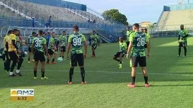 Manaus faz os últimos preparativos para duelo da Copa do Brasil - Time enfrenta o Vila Nova, nesta quarta, na Arena da Amazônia.