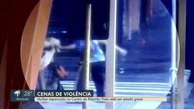 Mulher sofre traumatismo craniano após ser espancada por 2 homens em Ribeirão Preto, SP - Agressores são moradores de rua e usuários de droga.