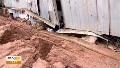 Homem morre vítima de desabamento em Adamantina - Ocorrência foi registrada em uma empresa de transportes.