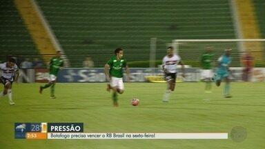 Atacante Bruno Moraes comenta confronto entre Botafogo-SP e RB Brasil - Jogo acontece nesta sexta-feira (15), às 21h, em Campinas (SP).