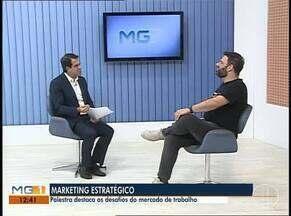 Palestra aborda os desafios do mercado de trabalho em Montes Claros - Cristiano Lopes vai ministrar palestra na cidade.