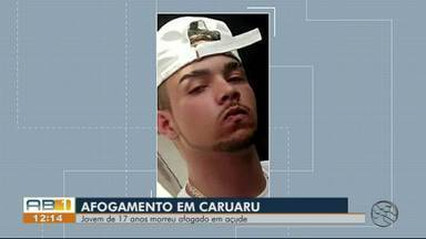 Adolescente morre afogado em açude em Caruaru - Jovem estava no local com alguns amigos quando mergulhou em uma região profunda e não conseguiu mais voltar.