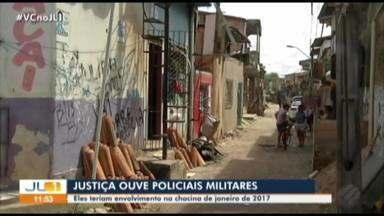 Justiça ouve PMs suspeitos de participar de grupos de extermínio em Belém - Entre os envolvidos está o Cabo Leno, acusado de participar da chacina de 2017 que matou 27 pessoas