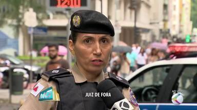 Polícia Militar fala sobre a segurança durante o carnaval em Juiz de Fora - As festividades na cidade começam essa semana.