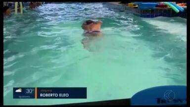 Nadador máster de Divinópolis busca apoio para competir na Coreia do Sul - Jair Miranda busca medalha internacional