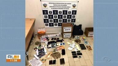 Operação policial prende organização criminosa em Arapiraca - Integrantes são suspeitos de agiotagem, extorsão e associação criminosa.