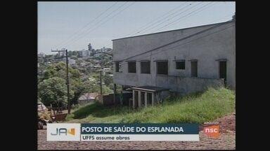 UFFS assume obras de unidade de saúde de bairro de Chapecó - UFFS assume obras de unidade de saúde de bairro de Chapecó