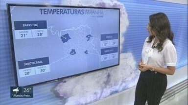 Veja previsão do tempo para esta quinta-feira na região de Ribeirão Preto, SP - Tempo continua instável em toda a região, mas deve chover menos.