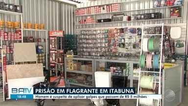 Polícia Civil faz operação e cumpre seis mandados de busca e apreensão em Itabuna - Um dos suspeitos é investigado por aplicar golpes que passam mais de R$ 5 milhões.